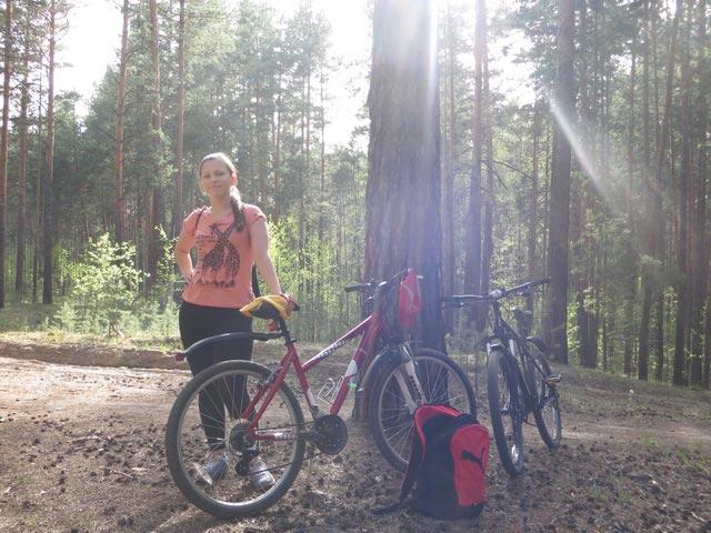 Интересный досуг и сплошная польза - езда на велосипеде