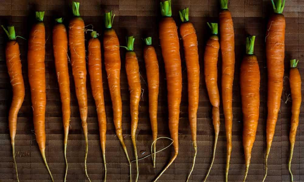 Полезные продукты морковь