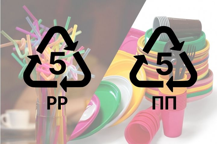 Маркировка пластика ПП