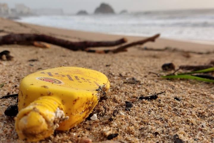 Загрязнение пластиковым мусором
