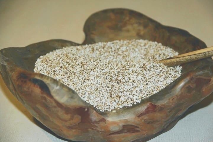 Воздушные семена амаранта