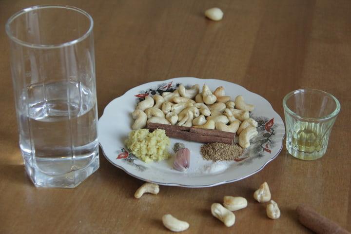 Ореховая заправка для салатов