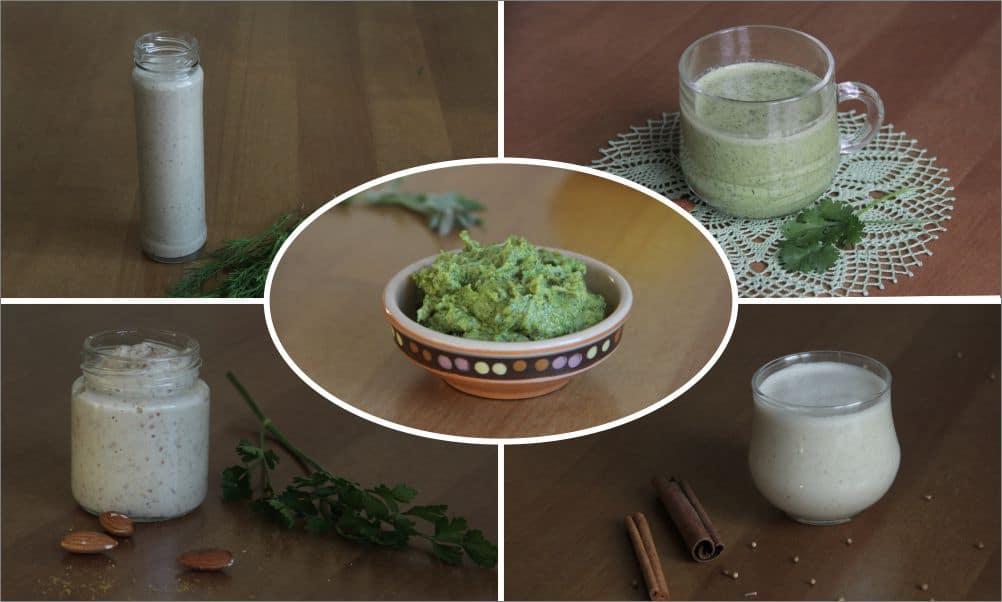 Ореховые заправки для салатов