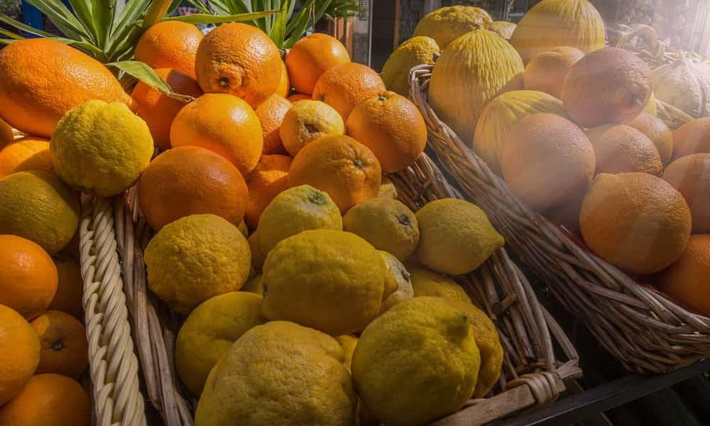 Продукты с наибольшим содержанием витамина C
